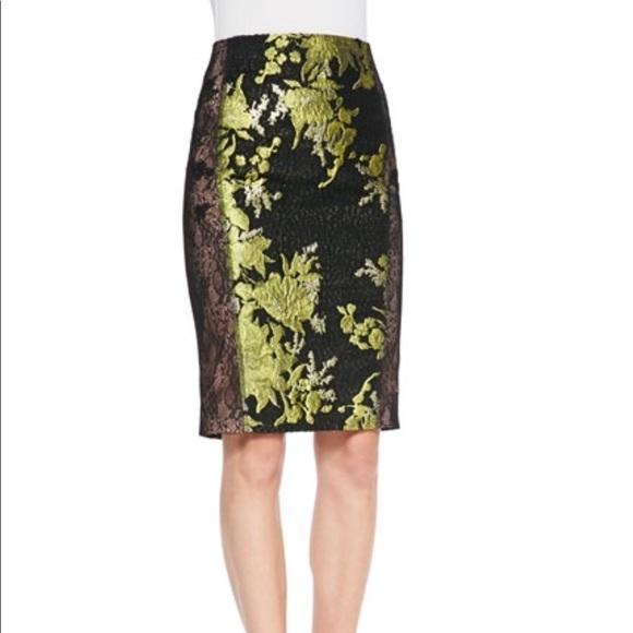 09ec843817 Byron Lars Dresses & Skirts - Byron Lars beauty mark Floral Lace Skirt